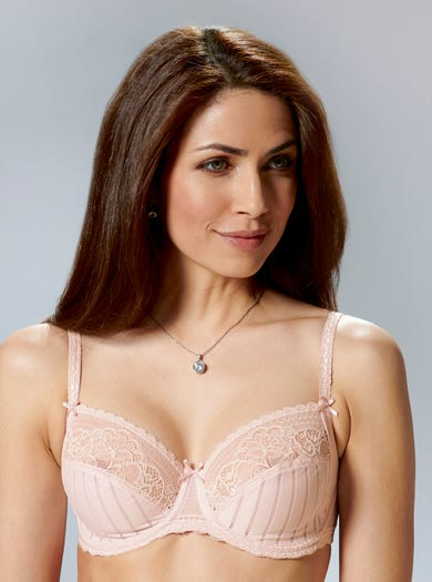 9373 - Blush - Luxury Full-cup Bra by Felina