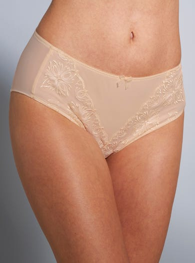 Soft Embroidered Briefs by Chantelle