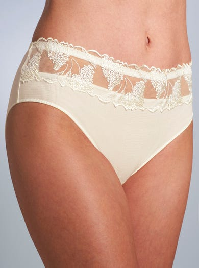 Richly Embroidered Deep Briefs by Prima Donna