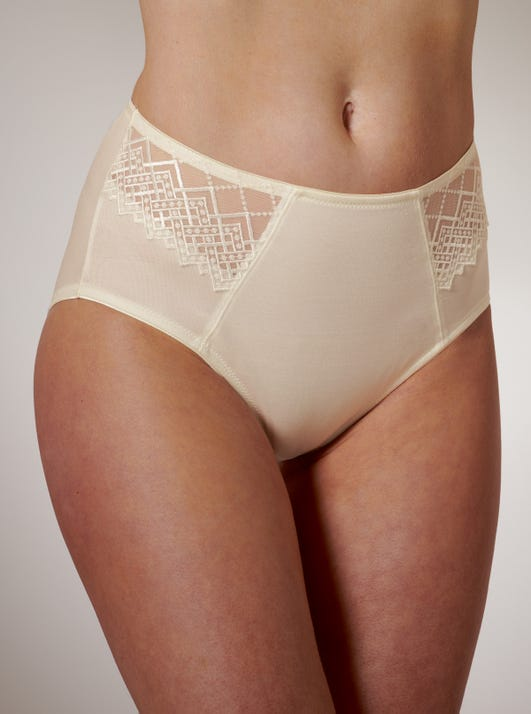 Joy Embroidered Briefs by Felina