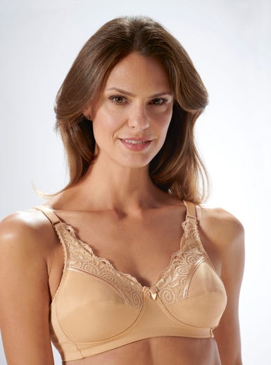 9433 - Natural/Skin - Cotton-lined Comfy Bra by Royce