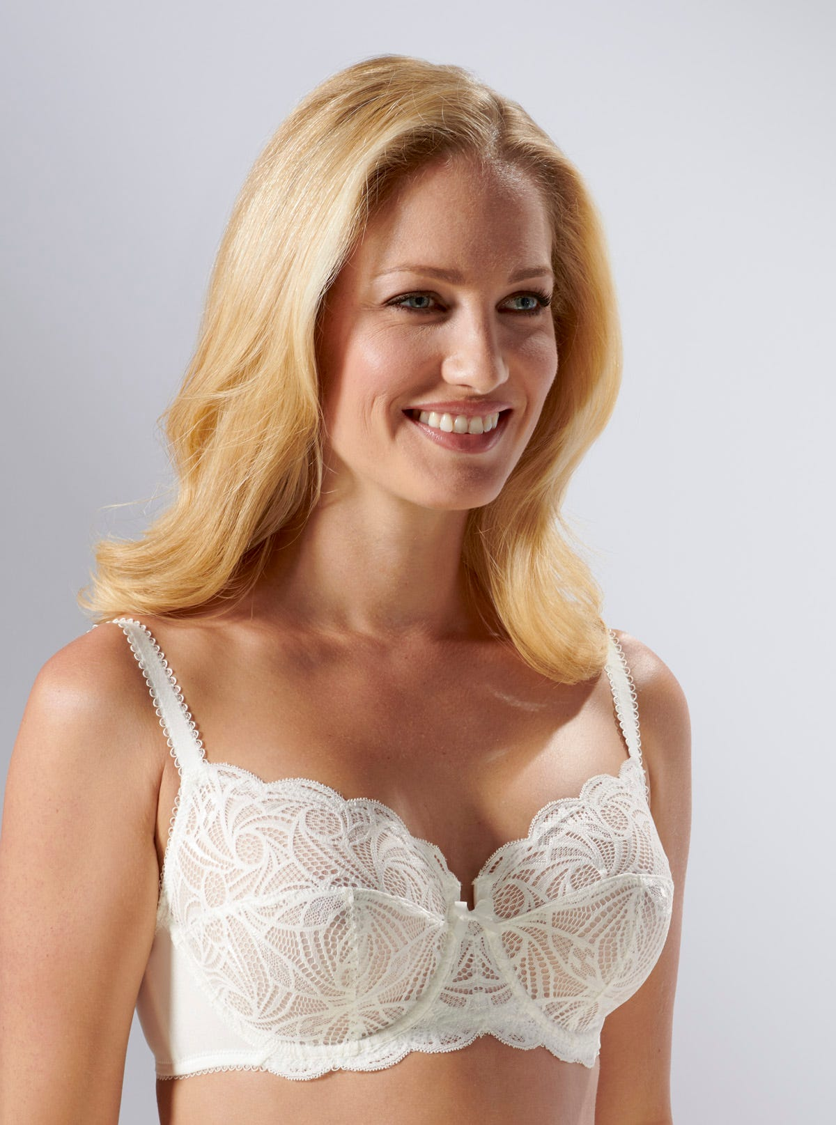Ariane Stretch Lace Bra By Sans Complexe In Natural