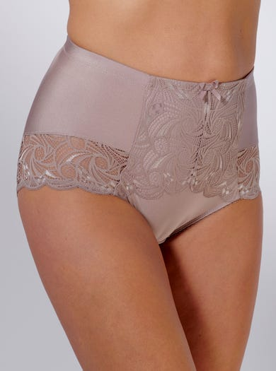 9439 - Smokey Quartz - Light Support Lace Brief by Sans Complexe