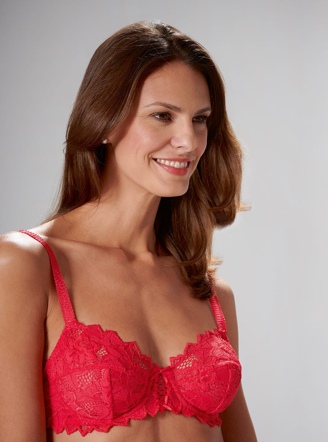 Soft Stretch Lace Bra by Sans Complexe