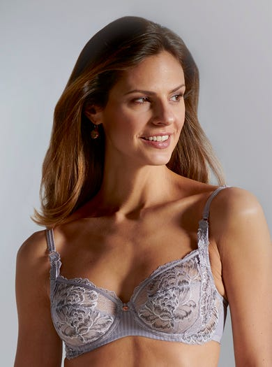 9460 - Lilac Haze - Comfortable Underwired Bra by Florale by Triumph