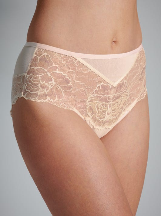Gentle High Waist Briefs by Florale by Triumph