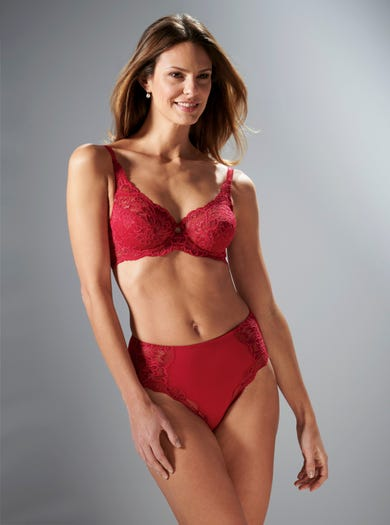 9470 - Ruby - Soft Stretch Lace Bra by Triumph