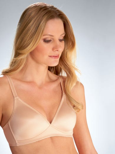 9504 - Natural/Skin - Smoothing Non-wired Bra by Wacoal