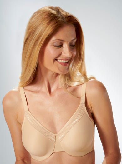 9510 - Sand - Soft Smooth Bra by Wacoal