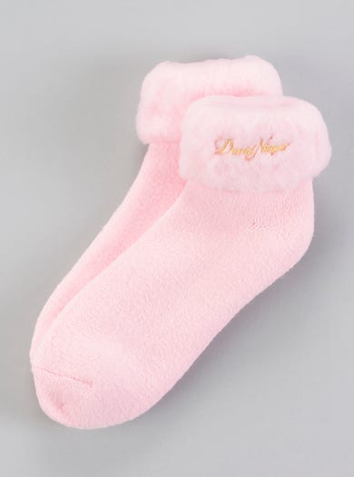 9600 - Pink - Snug Warm Bedsocks