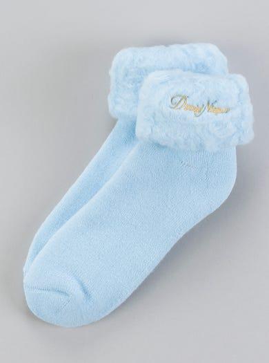 9600 - Blue - Snug Warm Bedsocks