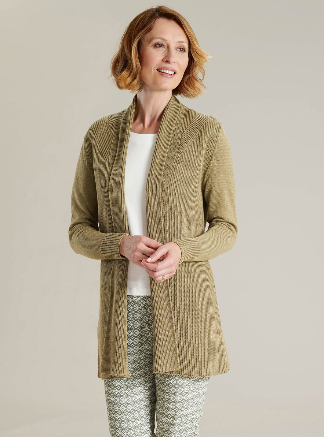 Easy Cotton Cardigan