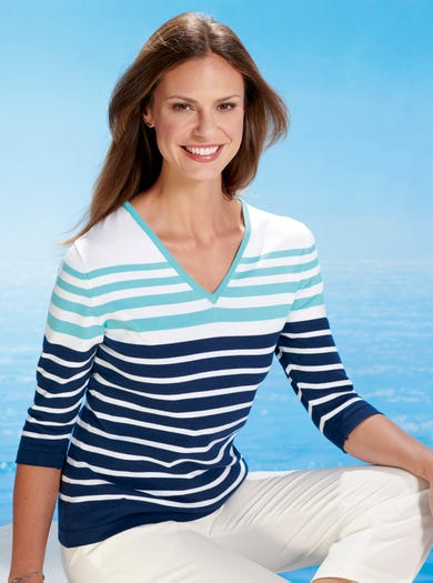 9812 - French Navy - Supersoft Cotton Jumper