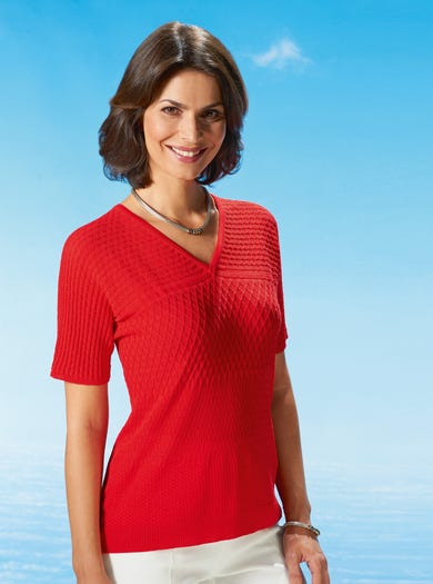 9814 - Watermelon - Contemporary Jumper