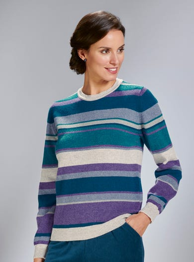 9829 - Smokey Grey - Pure Lambswool Jumper