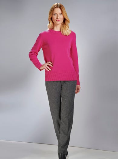 9834 - Cerise - Luxury Geelongora Jumper