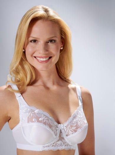 9851 - Weiß - Eleganter Bügel-BH von Miss Mary
