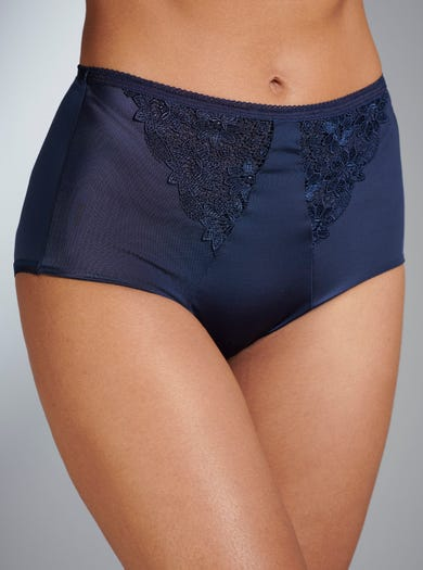 Exclusive Embroidered Briefs by Miss Mary of Sweden