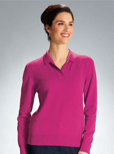 9869 - Cyclamen - Essential Cashmere Knit