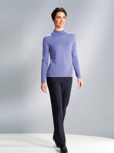 9879 - Lavender - Soft Merino Jumper