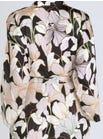 3432 Soft Satin Kimono Wrap