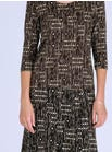 4830 Comfort Fit Jersey Top & 4836 Fine Jersey Print Skirt