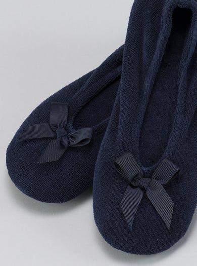 9897 - Navy/Donkerblauw - Knusse ballerina's