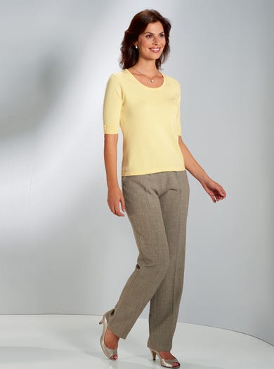 9911 - Lemon - Softest Cotton Jumper