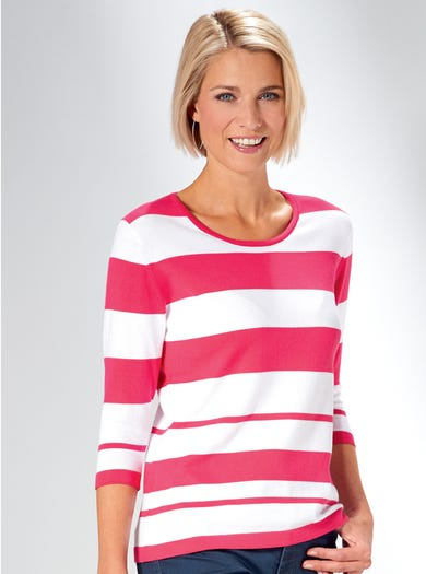 9914 - Hot Pink - Cool Cotton Jumper