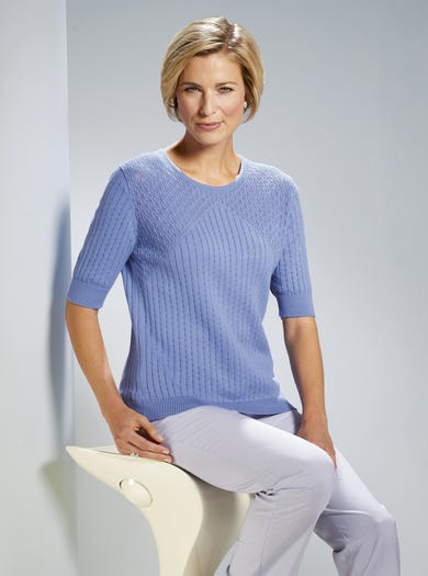 9924 - Wedgwood - Pure Cotton Jumper