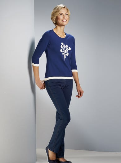 9925 - Midnight - Pure Cotton Jumper