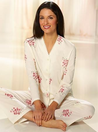 Katoenen pyjama