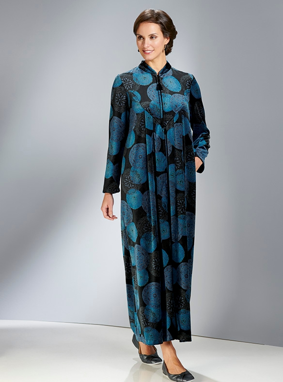 Cosy Velour Gown