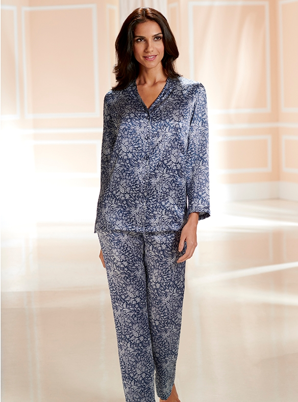 Pure Silk Pyjamas