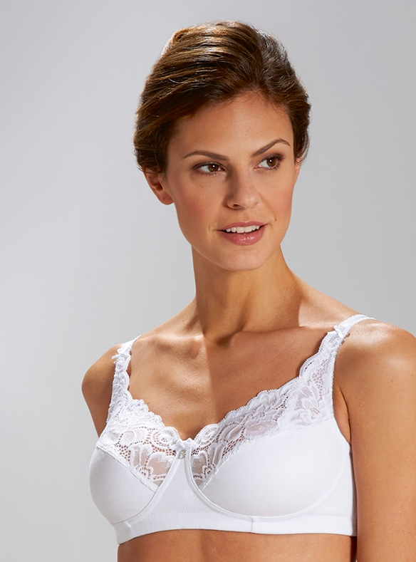 Cotton-rich Non-wired Bra by Bestform
