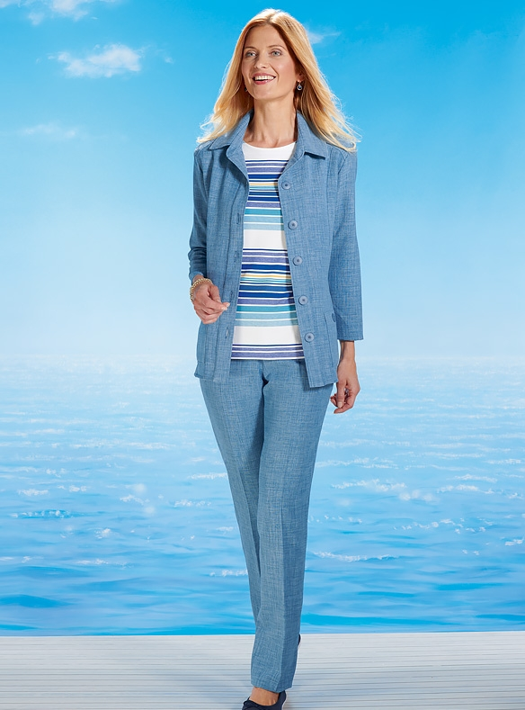 Uncrushable Linen-look Suit