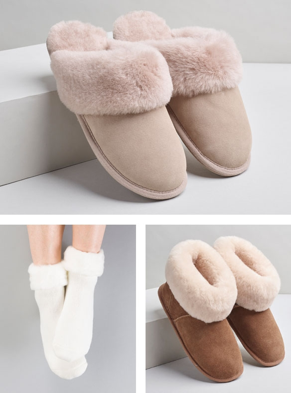 Cosy slippers