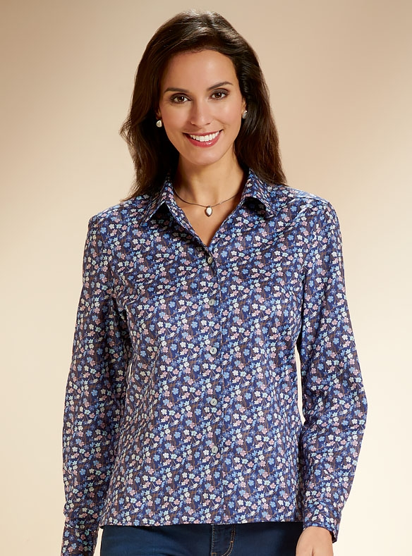 Luxury Blouse Made with Liberty Cotton
