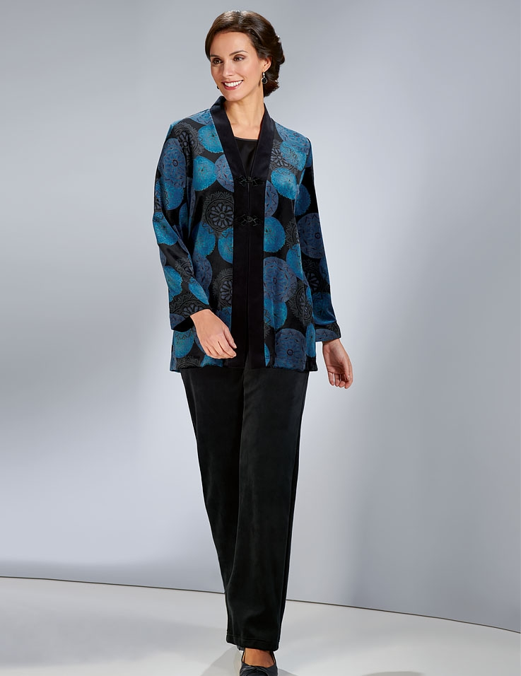 Luxury Velour Jacket & Trousers