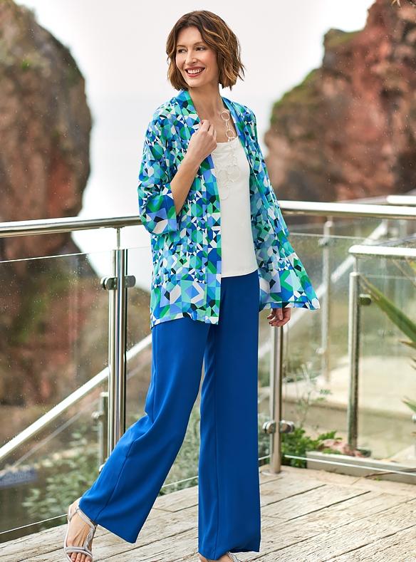 Silk Kimono & Palazzos