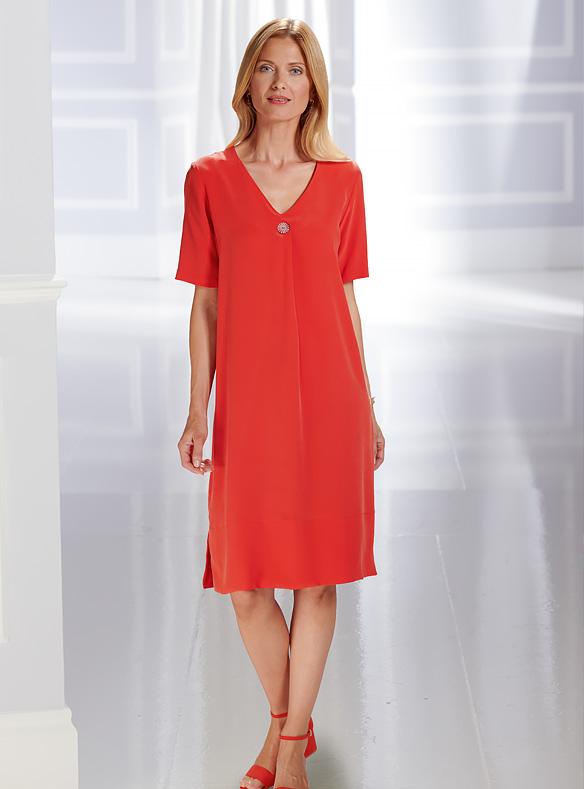 Luxury Pure Silk Dress