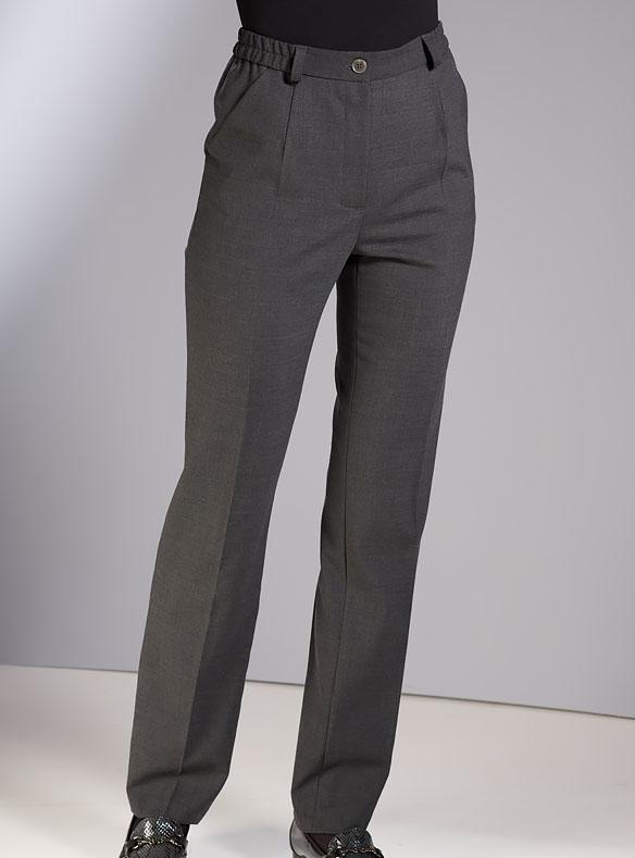 Wool-rich trousers