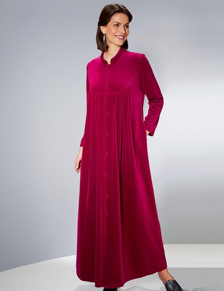 Luxurious Velvet Velour Gown