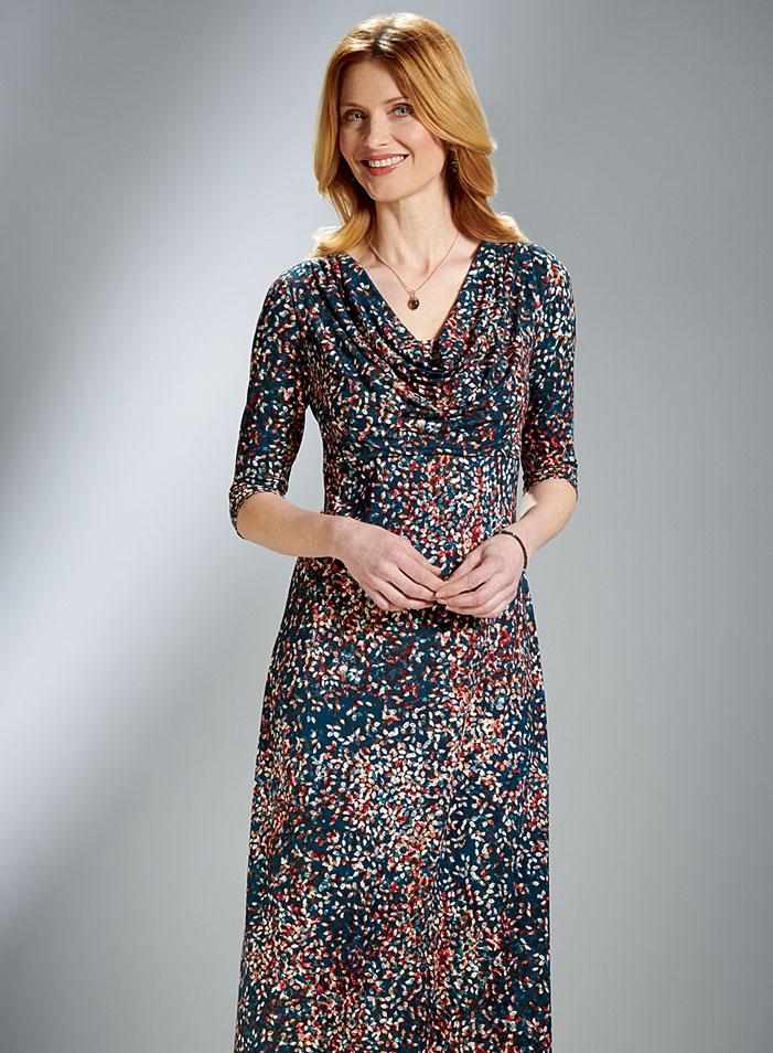 Elegant Jersey Dress