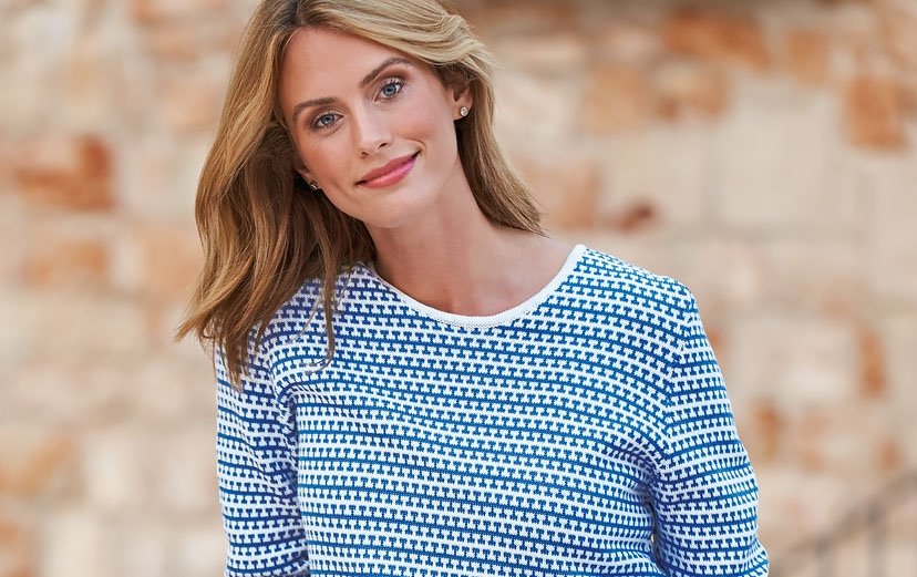 Must-have cotton knitwear