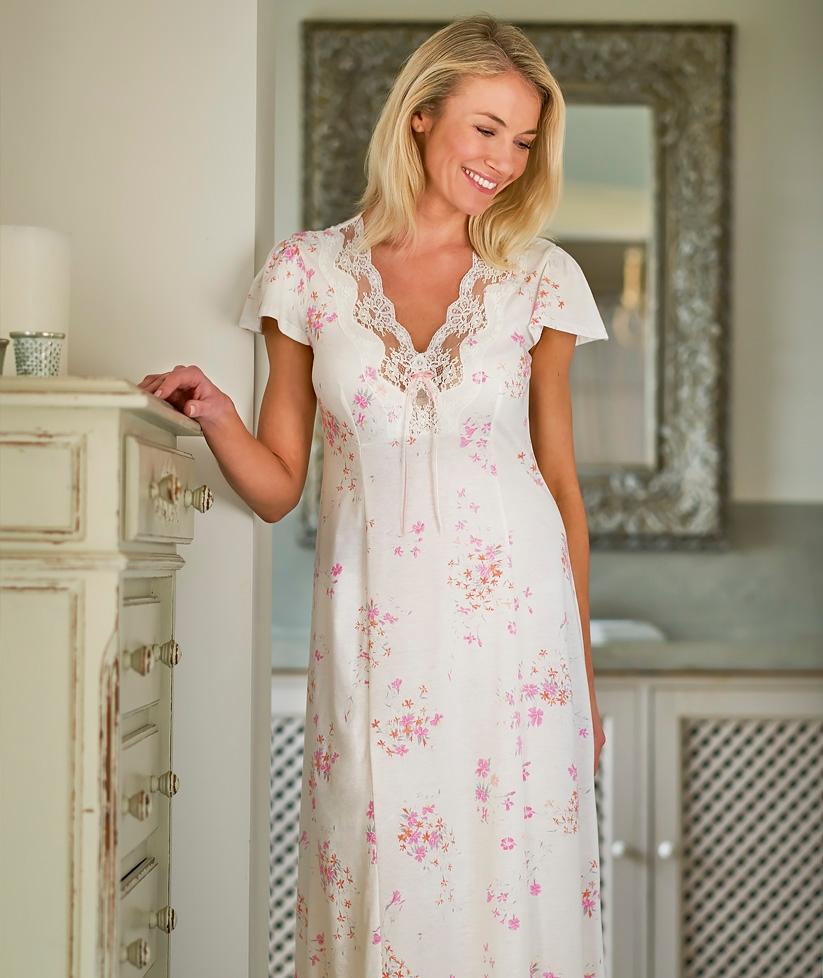 Fine Cotton Nightdress