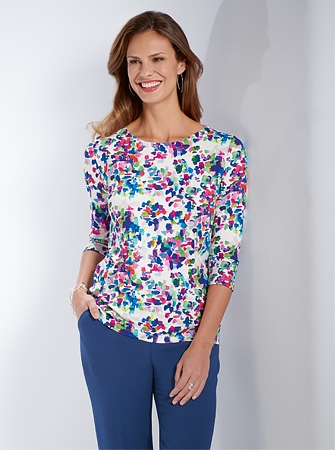 Bright Jersey Top