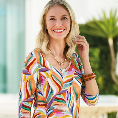 Discover new spring prints