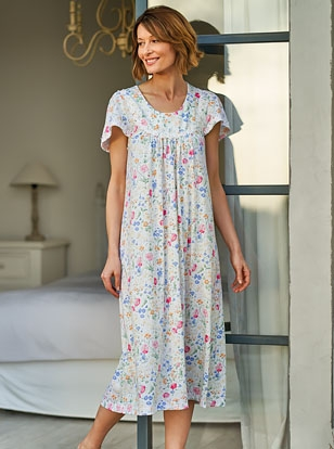 Womens cotton nightshirts and luxury nightwear